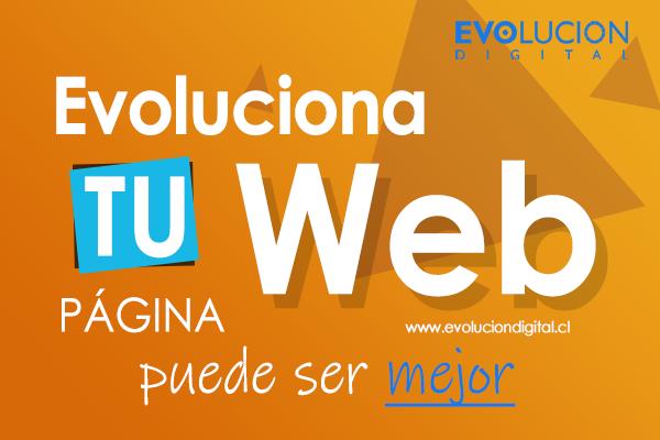 Evoluciona tu web - Ofertas Evolucion Digital
