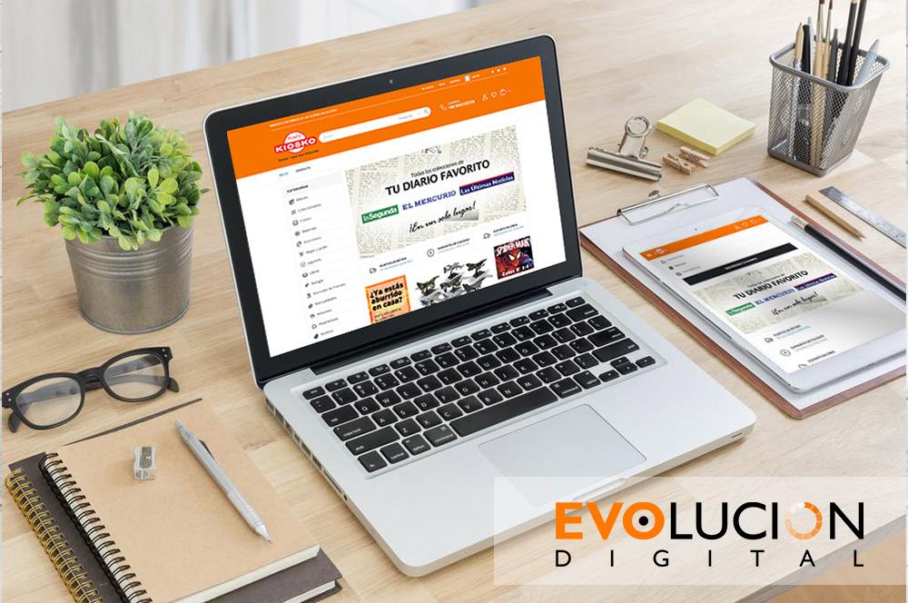 Punto Kiosko - Evolucion Digital Portafolio